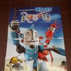 Cine: ROBOTS CARTEL DE CINE AÑO 2005 . Lote 58420632