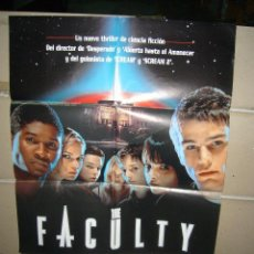 Cine: THE FACULTY POSTER ORIGINAL 70X100 Q. Lote 168387046