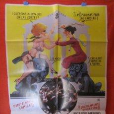 Cine: CINE - EL CONSENSO - CARTEL AFICHE ORIGINAL100 X 70 CM + 9 CARTELERAS ORIGINALES - CLASIFICADA S . Lote 58486577