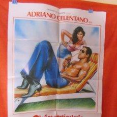 Cine: CINE SEÑAS PARTICULARES HERMOSSSISIMO (1984) ADRIANO CELENTANO - CARTEL AFICHE ORIGINAL100 X 70 CM. Lote 58506342