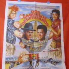 Cine: CINE - DOS SABUESOS DESPISTADOS - DAN AYKROYD Y TOM HANKS - CARTEL AFICHE ORIGINAL100 X 70 CM - VER. Lote 58506894