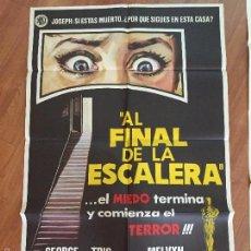 Cine: AL FINAL DE LA ESCALERA POSTER DE 100X80 MUY BUEN ESTADO Nº 25. Lote 58517183