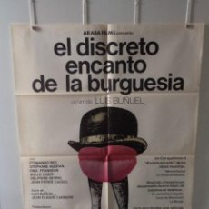 Cine: EL DISCRETO ENCANTO DE LA BURGUESÍA - FERNANDO REY - STEPHANE AUDRAN - DIRECTOR LUIS BUÑUEL. Lote 58527758
