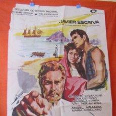 Cine: CINE - MALOKAI (LA ISLA MALDITA)- AÑO 1959 - JAVIER ESCRIVA - CARTEL AFICHE ORIGINAL100 X 70 CM. Lote 58535788