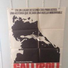 Cine: GALLIPOLI - MEL GIBSON - MARK LEE - DIRECTOR PETER WEIR. Lote 58568310