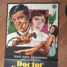 Cine: DOCTOR CASANOVA POSTER 100X70 BUEN ESTADO Nº 148. Lote 58578646