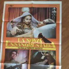 Cine: LA NOVIA ENSANGRENTADA BUEN ESTADO POSTER 100X70 Nº 160 . Lote 58579223