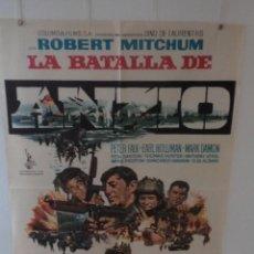 Cine: LA BATALLA DE ANZIO - ROBERT MITCHUM - PETER FALK - ROBERT RYAN - DIRECTOR EDWARD DMYTRYK. Lote 58593139