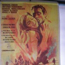 Cine: POSICION AVANZADA - CARTEL ORIGINAL 1965 // PEDRO LAZAGA ANTONIO FERRANDIS // 70 X100 CM // JANO. Lote 58613550