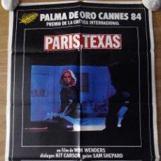 Cinema: PARÍS, TEXAS - APROX 70X100 CARTEL ORIGINAL CINE (L31). Lote 233900665