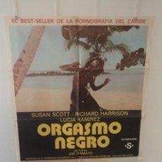 Cinema: ORGASMO NEGRO - SUSAN SCOTT - RICHARD HARRISON - DIRECTOR JOE D'AMATO. Lote 58623115