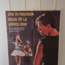 Cine: UNA DISPARATADA BRUJA EN LA UNIVERSIDAD - ROBYN LIVELY - ZELDA RUBINSTEIN - DIRECTOR DORIAN WALKER. Lote 58637687
