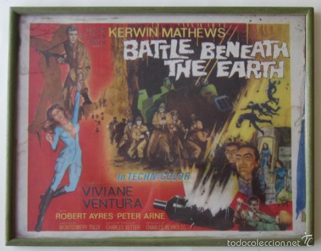 CARTEL DE LA PELICULA BATTLE BENEATH THE EARTH (Cine - Posters y Carteles - Bélicas)
