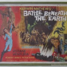 Cine: CARTEL DE LA PELICULA BATTLE BENEATH THE EARTH. Lote 59110160