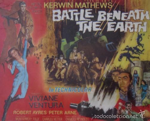 Cine: CARTEL DE LA PELICULA BATTLE BENEATH THE EARTH - Foto 2 - 59110160