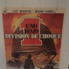 Cinema: UNO ROJO DIVISIÓN DE CHOQUE - LEE MARVIN - MARK HAMILL - DIRECTOR SAMUEL FULLER. Lote 59530644