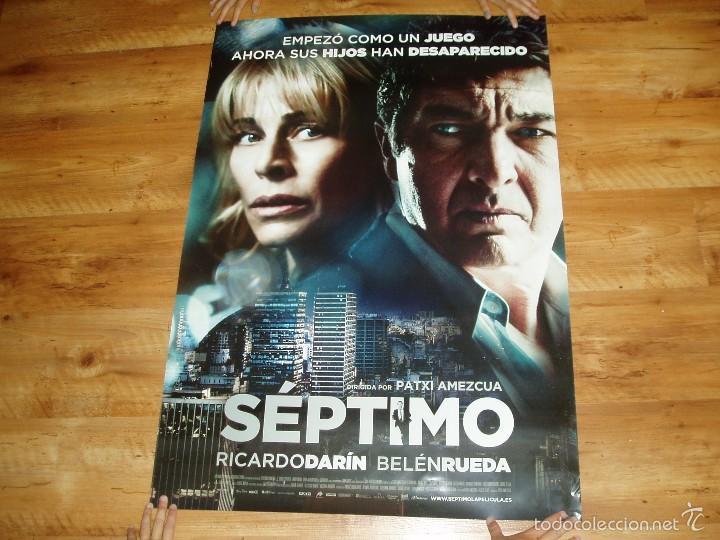 POSTER O CARTEL DE CINE. SEPTIMO. MUY BUEN ESTADO. (Cine - Posters y Carteles - Suspense)