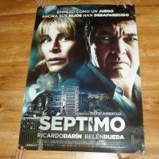 Cine: POSTER O CARTEL DE CINE. SEPTIMO. MUY BUEN ESTADO.. Lote 245108495