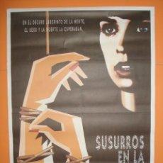 Cine: CARTEL, POSTER CINE - PELICULA: SUSURROS EN LA OSCURIDAD - AÑO 1992- ORIGINAL -... R- 3257. Lote 60045243