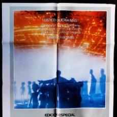 Cine: CARTEL DE CINE: ENCUENTROS EN LA TERCERA FASE. EDICIÓN ESPECIAL. ORIGINAL. STEVEN SPIELBERG.. Lote 60075639