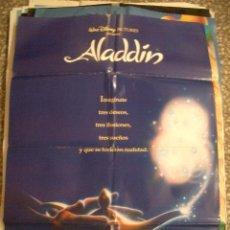 Poster original de cine 70x100cm Aladín raro