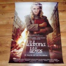 Cinema: POSTER O CARTEL DE CINE. LA LADRONA DE LIBROS. ORIGINAL. MUY BUEN ESTADO.. Lote 161678606