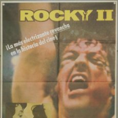 Cine: XA54 ROCKY 2 SYLVESTER STALLONE BOXEO POSTER ORIGINAL ESPAÑOL 70X100 B. Lote 60278147