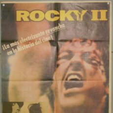 Cine: XA53 ROCKY 2 SYLVESTER STALLONE BOXEO POSTER ORIGINAL ESPAÑOL 70X100. Lote 60278271
