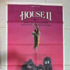 Cine: HOUSE II CARTEL ORIGINAL 100X70 CM. Lote 60351699