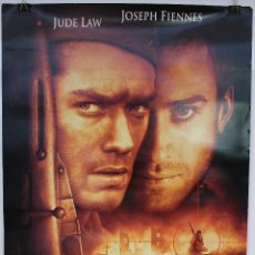 Cine: CARTEL ORIGINAL CINE. ENEMIGO A LAS PUERTAS. JEAN-JACQUES ANNAUD, JUDE LAW, JOSEPH FIENNES. Lote 60698167
