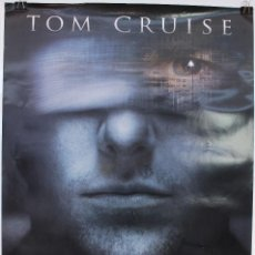 Cine: CARTEL ORIGINAL CINE. MINORITY REPORT. STEVEN SPIELBERG, TOM CRUISE.. Lote 60698351