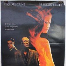 Cine: CARTEL ORIGINAL CINE. EL AMERICANO IMPASIBLE. MICHAEL CAINE. 70X100. Lote 60698719