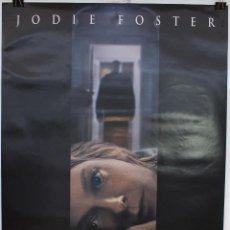 Cinema: CARTEL ORIGINAL CINE. LA HABITACION DEL PÁNICO. DAVID FINCHER, JODIE FOSTER. (2002). Lote 60699567