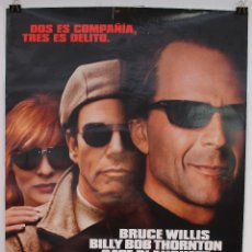 Cine: CARTEL ORIGINAL CINE. BANDITS. BARRY LEVISON, BRUCE WILLIS, BILLY BOB THORNTON, CATE BLANCHETT. Lote 60700959