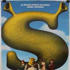 Cinema: CARTEL ORIGINAL CINE. SHERK. MIKE MYERS, EDDIE MURPHY, CAMERON DIAZ. DREAMWORKS.. Lote 60734739
