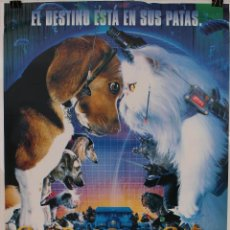 Cine: CARTEL ORIGINAL CINE. COMO PERROS Y GATOS. . Lote 117462164