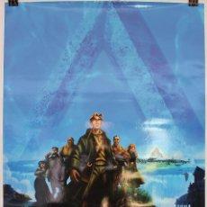 Cine: CARTEL ORIGINAL CINE. ATLANTIS, EL IMPERIO PERDIDO. ANIMACION, WALT DISNEY. 70X100. Lote 60734843