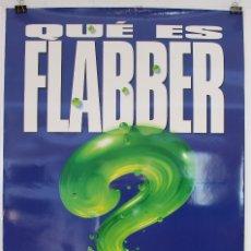 Cine: CARTEL ORIGINAL CINE. FLUBBER Y EL PROFESOR CHIFLADO. ROBIN WILLIAMS, DISNEY. 70X100. Lote 60790223