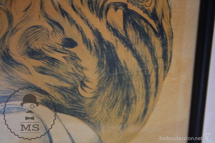 Cine: Antiguo Cartel de Película - La Llama Sagrada - Warner Bros. / Cinematográfica Almira - Año 1931 - Foto 6 - 60928295