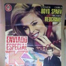 Cine: CARTEL DE CINE, POSTER, ENVIADO ESPECIAL K, 1967, MEDIDAS: 100X 70 CM. Lote 61062431