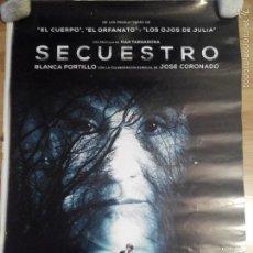 Cine: SECUESTRO - APROX 70X100 CARTEL ORIGINAL CINE (L31). Lote 61227875