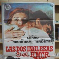 Cine: C1A463 LAS DOS INGLESAS Y EL AMOR. Lote 278288143