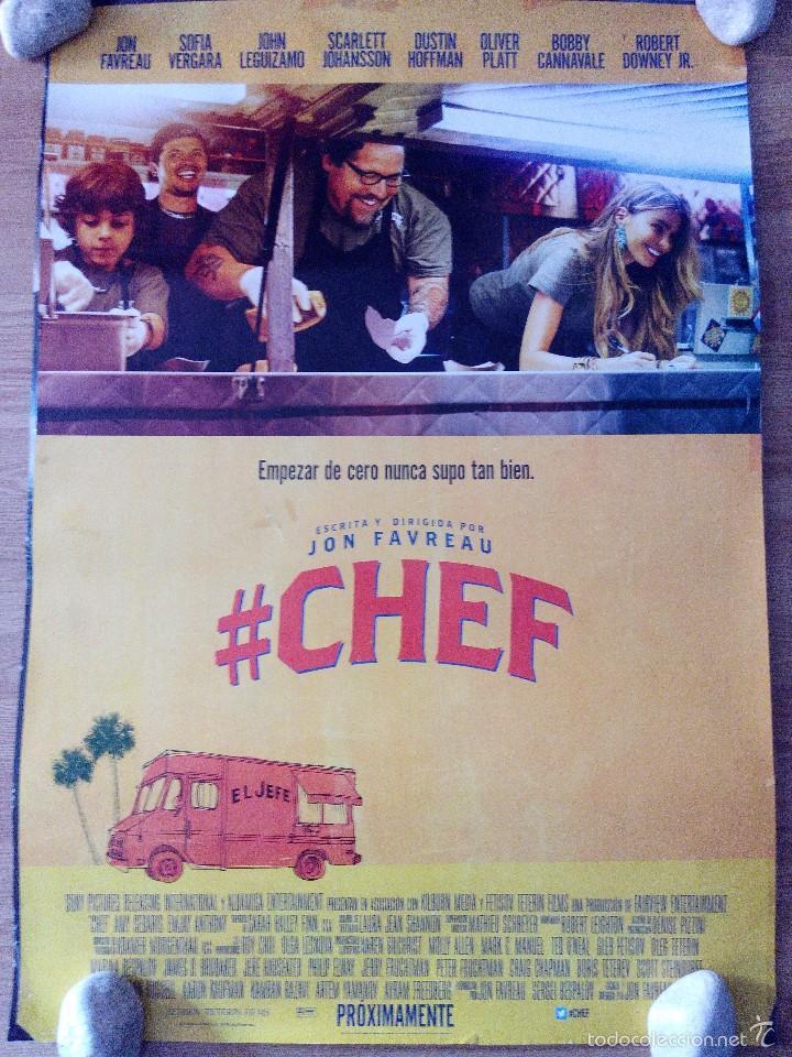 CHEF - APROX 70X100 CARTEL ORIGINAL CINE (L33) (Cine - Posters y Carteles - Comedia)