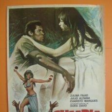 Cine: CARTEL, POSTER CINE - PELICULA: CUMBIA - AÑO 1974 - ORIGINAL -...... R-3297. Lote 110171964