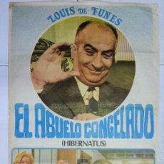Cine: ANTIGUO Y ORIGINAL CARTEL DE CINE 70 X 100 CM. EL ABUELO CONGELADO - 1978. Lote 61510311