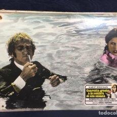 Cine: CARTELERA CINE LOBBY CARD CUARENTA GRADOS A LA SOMBRA DE UNA SABANA FELDMAN 29X39CMS. Lote 61541524