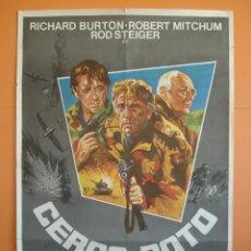 Cine: CARTEL, POSTER CINE -ORIGINAL- PELICULA: CERCO ROTO - AÑO 1979.. R-3303. Lote 61599756