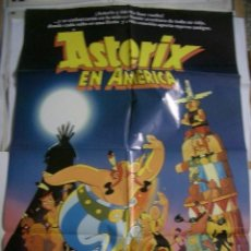Cine: POSTER ORIGINAL DE CINE 70X100CM DE ASTERIX EN AMÉRICA. Lote 61926284