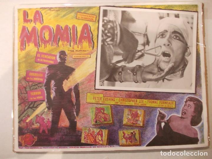 LA MOMIA-CARTEL ORIGINAL PARA CINE-CHRISTOPHER LEE-CLASICO TERROR (Cine - Posters y Carteles - Terror)