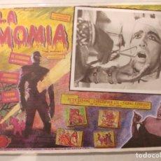 Cine: LA MOMIA-CARTEL ORIGINAL PARA CINE-CHRISTOPHER LEE-CLASICO TERROR. Lote 62068752